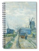 Montmartre   Mills And Vegetable Gardens, Paris Spiral Notebook