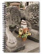 Montparnasse Cemetery Spiral Notebook