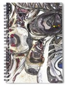 Montrails And Solomons Spiral Notebook
