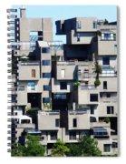 Montreal 44 Spiral Notebook