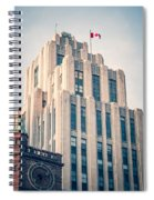 Montreal - Aldred Building Spiral Notebook