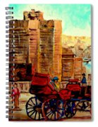 Montreal City View Spiral Notebook