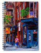 Montreal Depanneurs Spiral Notebook