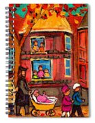 Montreal Early Autumn Spiral Notebook