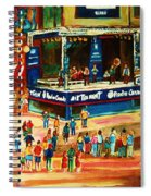 Montreal Jazz Festival Spiral Notebook