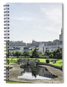 Montreal Peace In The Rush Spiral Notebook