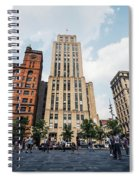 Montreal - Place Darmes Spiral Notebook