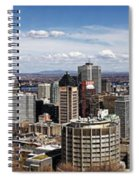 Montreal Seen From Above Spiral Notebook