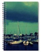 Montrose Harbor Evening Spiral Notebook