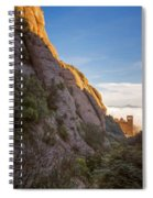 Montserrat Hike Painterly Spiral Notebook