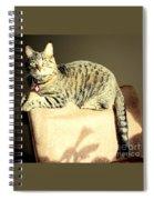 Monty's Pose Spiral Notebook
