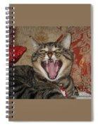 Monty's Yawn Spiral Notebook