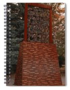 Monument At N M State Captial Spiral Notebook