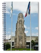 Monument Central Square Quezaltenango Guatemala Spiral Notebook