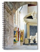 Monument In St Mylor Church Spiral Notebook
