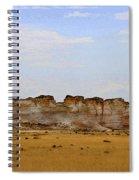 Monument Rocks In Western Kansas Spiral Notebook