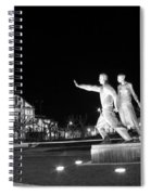 Monument To The Emigrant Spiral Notebook