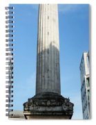 Monument To The Great Fire Of London Spiral Notebook