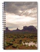 Monument Valley Spiral Notebook