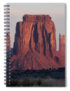 Monument Valley Sunrise 7288 Spiral Notebook