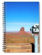 Monument Valley, Usa Spiral Notebook