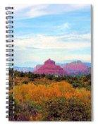 Monumental Bell Rock Vista Spiral Notebook