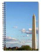 Monumental Obelisk Spiral Notebook
