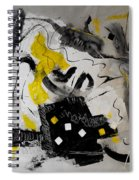 Moods Yellow Let It All Hang Out Spiral Notebook