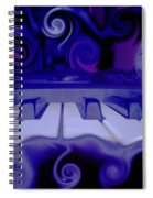 Moody Blues Spiral Notebook