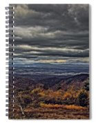 Moody Mountain View Spiral Notebook