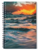 Moody Ocean Spiral Notebook