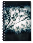 Moody Tablet Reflection Spiral Notebook
