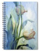 Moody Tulips Spiral Notebook