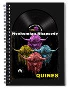 Moohemian Rhapsody Spiral Notebook