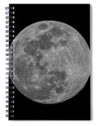 Moon 98 Percent Spiral Notebook