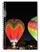 Moon And Balloons Spiral Notebook