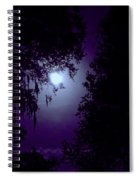 Moon - Between - The - Trees Spiral Notebook