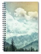 Moon By Day Spiral Notebook