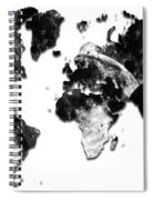 Moon Craters Spiral Notebook