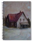 Moon House Spiral Notebook