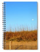 Moon In The Morning Spiral Notebook