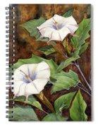 Moon Lilies Spiral Notebook