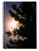 Moon Magical Glow Spiral Notebook