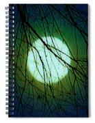Moon Of The Werewolf Spiral Notebook