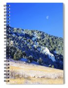 Moon Over Chautauqua Spiral Notebook