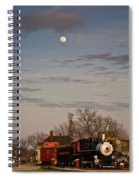 Moon Over Engine 509 Spiral Notebook