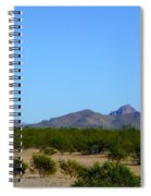 Moon Over My Mountains 2 Spiral Notebook