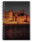 Moon Over Udaipur Spiral Notebook