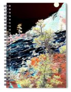 Moon Over Utah Spiral Notebook