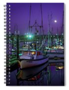 Moon Over Winchester Bay Spiral Notebook